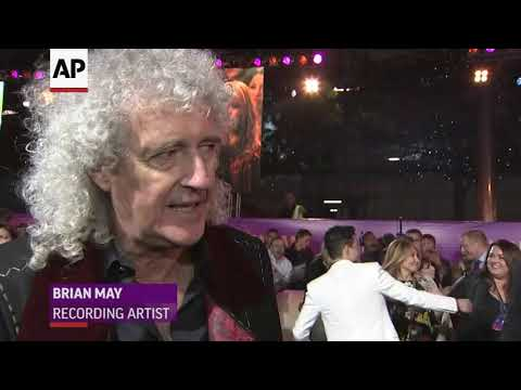 Brian May: 'Thank God' Rami Malek played Freddie Mercury
