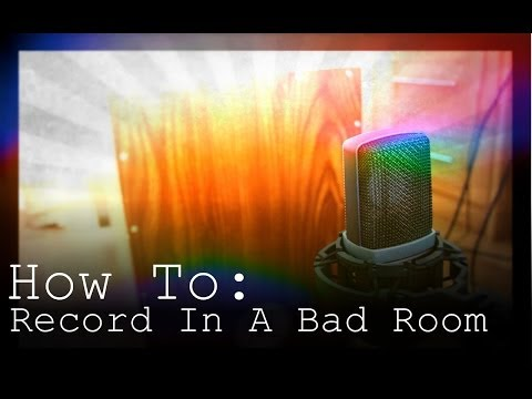 BEST 3 TIPS!! On Recording In A Bad Sounding Room
