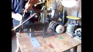 Lixadeira Caseira (homemade Belt Grinder)