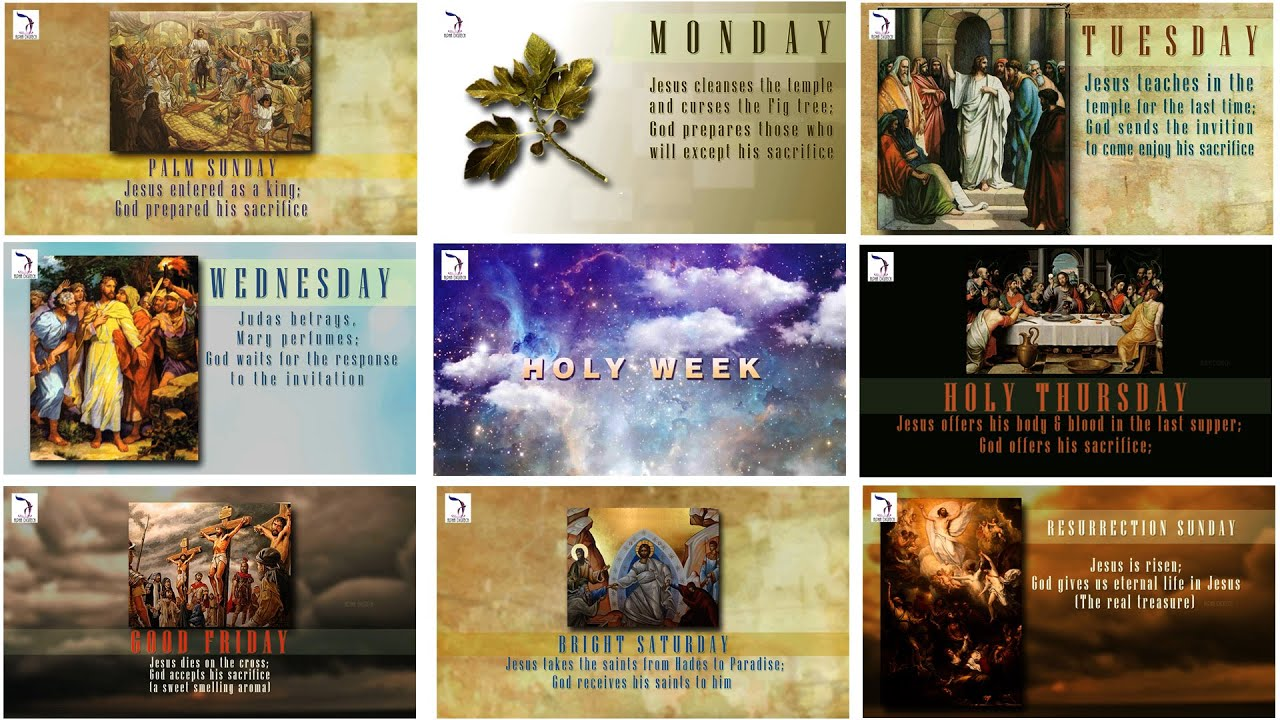 Holy week 2015 march 29 april 4 good friday youtube stopboris Gallery