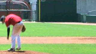 Cameron Stroup UNL Showcase Pitching 080111