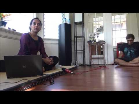 Dr Padma Sugavanam : Lec-dem on Carnatic Music in Manoa, Hawaii, USA