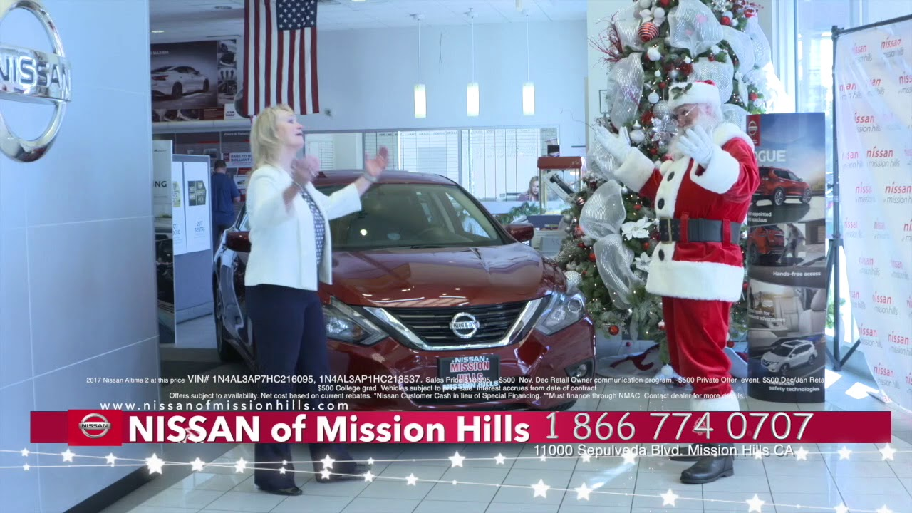 CHRISTMAS TIME At Nissan Of Mission Hills!