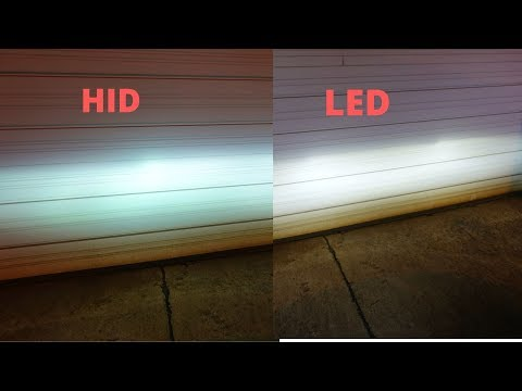 HID Vs LED On Projector Housing Headlights