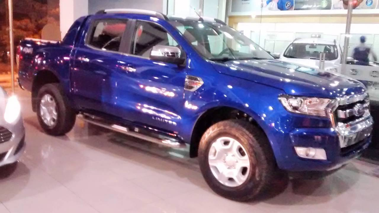 nueva ford ranger limited at 3 2 diesel 4x4 2017 galeria en azul youtube. Black Bedroom Furniture Sets. Home Design Ideas