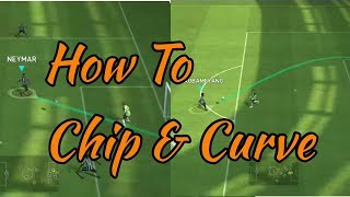 How to do curve shot & chip shot by|Football Holic|