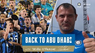 BACK TO ABU DHABI WITH DEJAN STANKOVIC 🔙⚫🔵🇦🇪| A vlog powered by Acronis