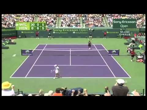 Serena Williams v. Justine Henin | 2007 Miami Final