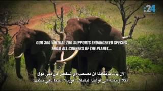 شاهد أول حديقة حيوان افتراضية.. في دبي