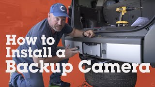 How to install a backup camera in your car | Crutchfield video