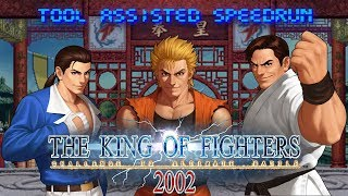 [TAS] The King Of Fighters 2002 - Art Of Fighting Team