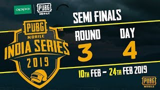OPPO x PUBG MOBILE India Series 2019 | Semi Finals | Day 4 ft.  BlackClue Gaming