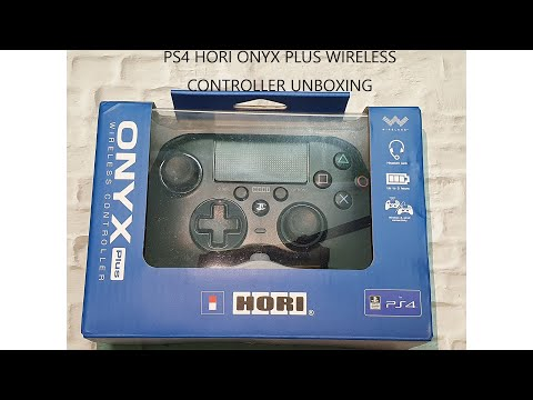 PS4 Hori Onyx Plus Wireless Controller Unboxing