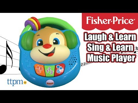Laugh & Learn Sing & Learn Music Player from Fisher-Price