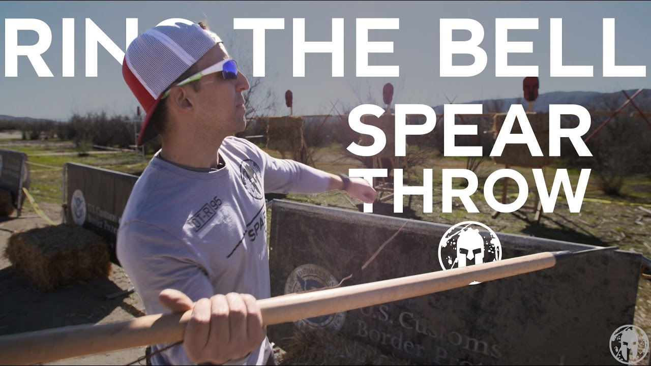 ring the bell proper height of spear throw spartan race youtube