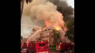 Crews Battle Fire at Tampa School Named After Robert E. Lee
