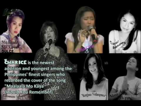 Charice Nostalgia Singing