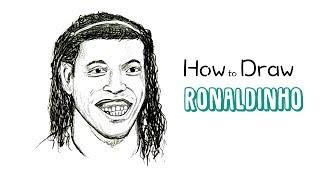 How to Draw Ronaldinho