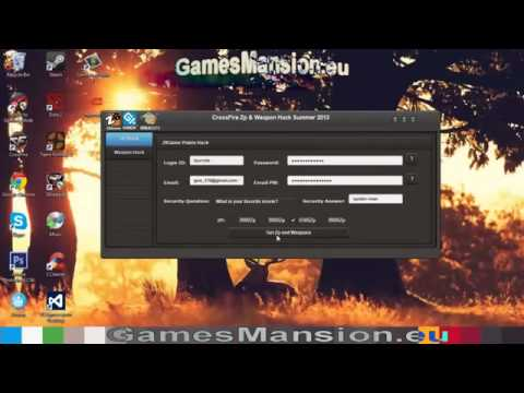 Crossfire ZP Hack 2014 latest realease+WORKING!!!