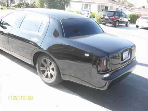 1998 To 2006 Lincoln Town Car Bodykit Wmv Youtube