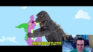 A Brony Reacts - Godzilla Meets My Little Pony