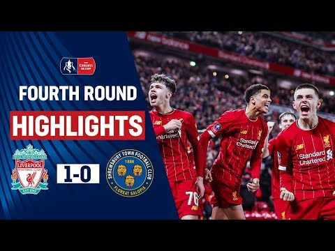 Young Reds Edge Past The Shrews At Anfield | Liverpool 1-0 Shrewsbury Town | Emirates FA Cup 19/20