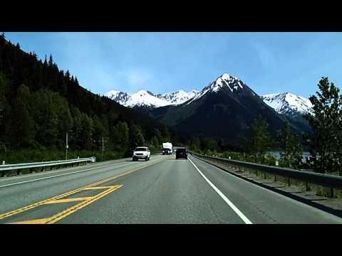 The Drive to Kenai Peninsula from Anchorage: Seward Highway (Faster)