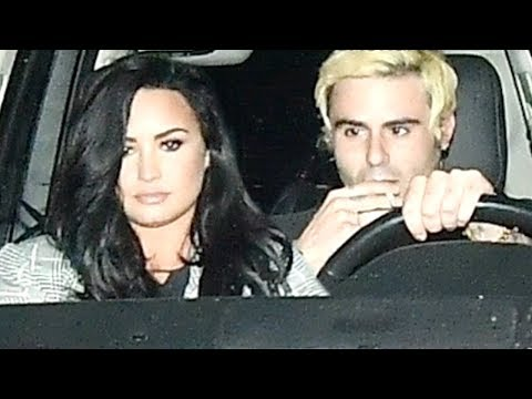 Demi Lovato Spotted Out of Rehab for First Time, But Who Is Her Mystery Man? Mp3