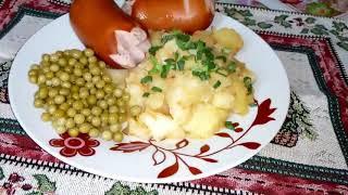 Как приготовить тушёную картошку - подробный рецепт.