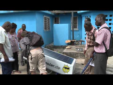 Solar Harvester Ghana demonstration