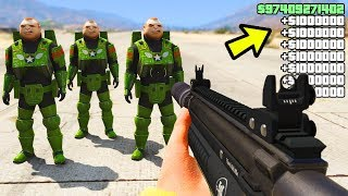 GTA 5 Online - HOW TO MAKE MILLIONS IN SECONDS! (GTA 5 Money PNG Job Glitch)