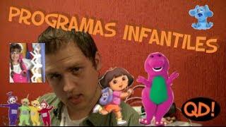 ¿Qué demonios con los programas infantiles? Chicos de los 90s lo sabrán bien