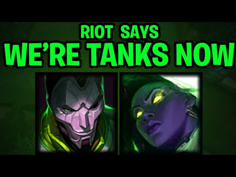 RIOT IS TURNING ADCS INTO TANKS   JHIN AND SENNA ROCKING GRASP ADC   Rav Commentary