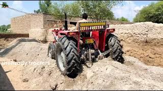 Massey Ferguson tractor fail   tractor video   tractor fail video   talented tractor driver