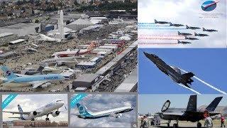 挑戰新聞軍事精華版--巴黎航展「F-35」飛行秀驚艷全場,波音推新機搶空巴訂單
