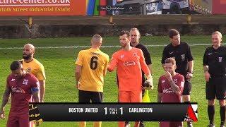 Boston United 1-1 Darlington - Vanarama National League North - 2017/18