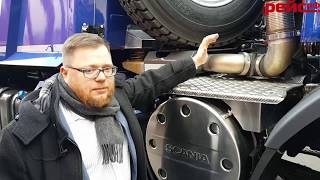 Самосвал Scania G480 CB8x8 EHZ