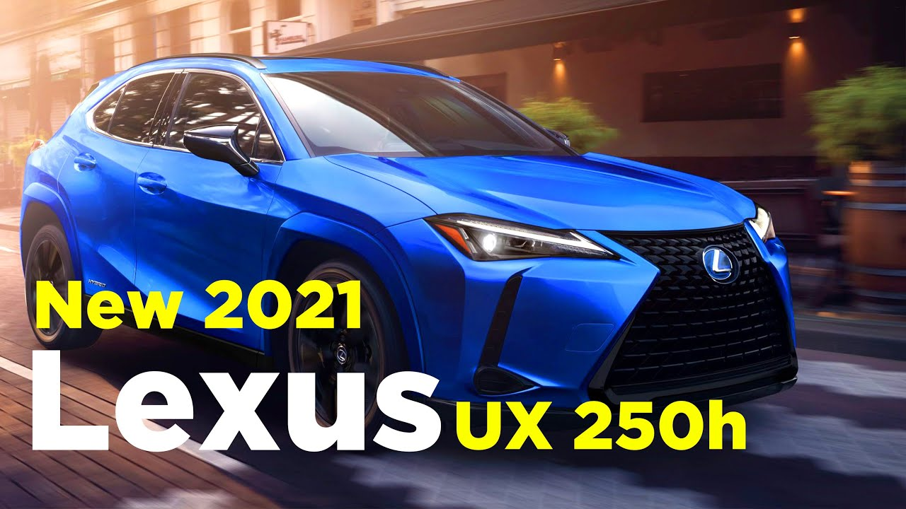 New Lexus UX 4h 4 or 4 Lexus UX Becomes More Stylish With