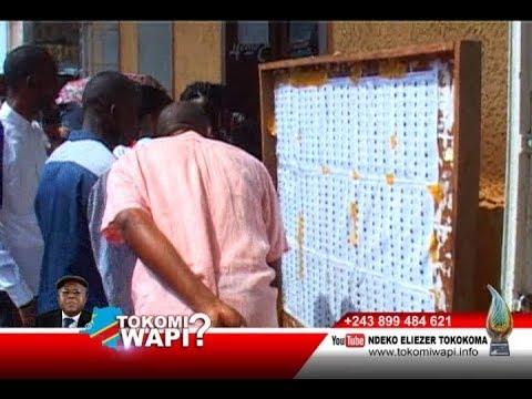TOKOMI WAPI 30 12 2018 ELECTIONS ELEKI NDENGE NINI NA CONGO