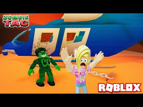 ZOMBİ SALGININDAN KURTULMAK İMKANSIZ Zombie Tag Roblox Oyunu |