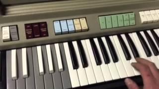 1967 Farfisa compact deluxe combo organ