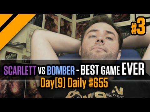 Day[9] Daily #655 - Scarlett vs Bomber - The best SC2 game in history P3