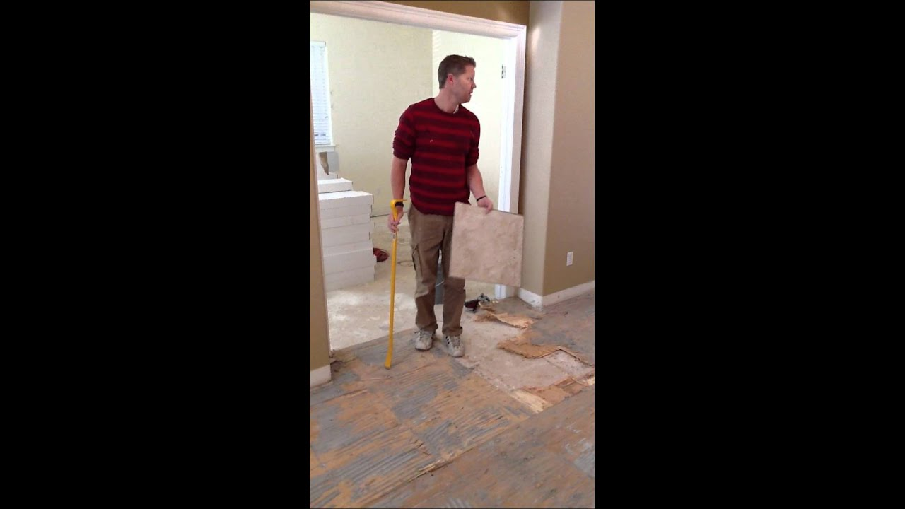 Removing Bathroom Floor Tile