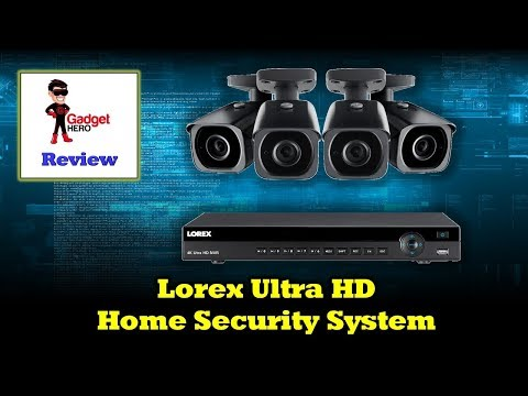 Lorex 4KHDIP84N Video Surveillance System - In Depth Overview