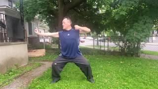(Video #36) Qi Gong: Ba Duan Jin (8 Section Brocade) Techniques #1 & 2