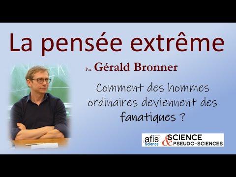 La pensée extrême - Gérald Bronner - Conférence du 1er février 2017