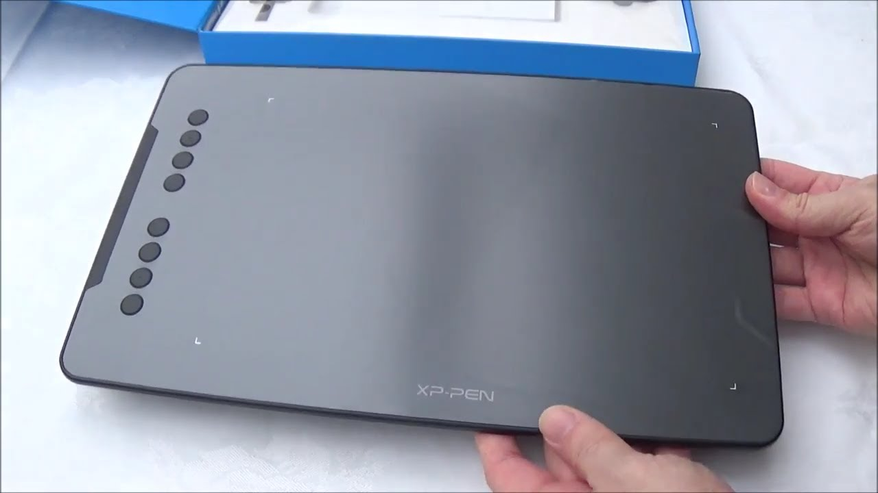 XP-PEN Deco 01 Graphic Pen Tablet Unboxing & First Look - YouTube