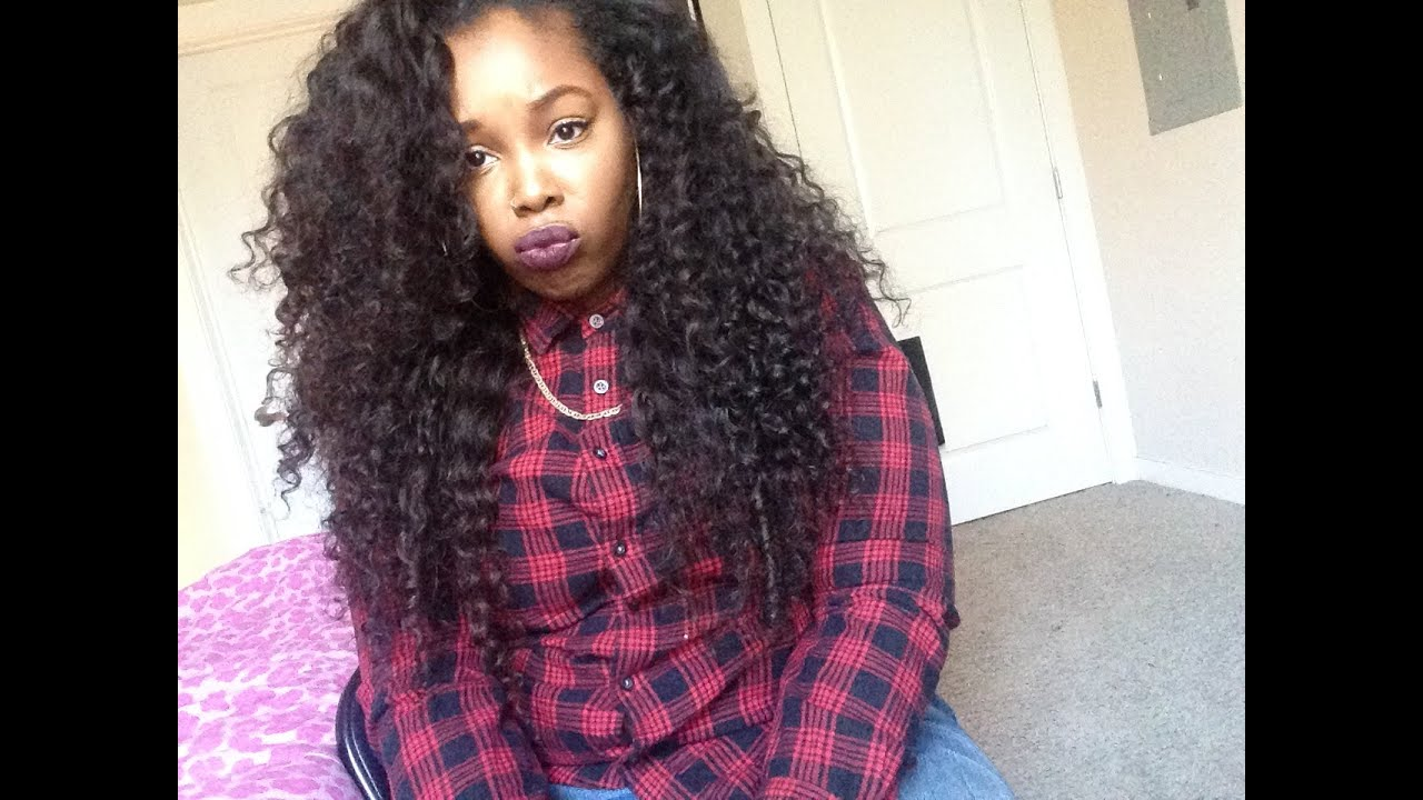 Queen Hair Products Brazilian Deep Wave Curly