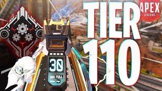 The Tier 110 Battlepass Flatline Skin has the BEST Iron Sights! - PS4 Apex Legends