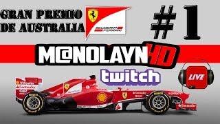 F1 2013 pc | Campeonato con Youtubers | Rd 1 Melbourne |